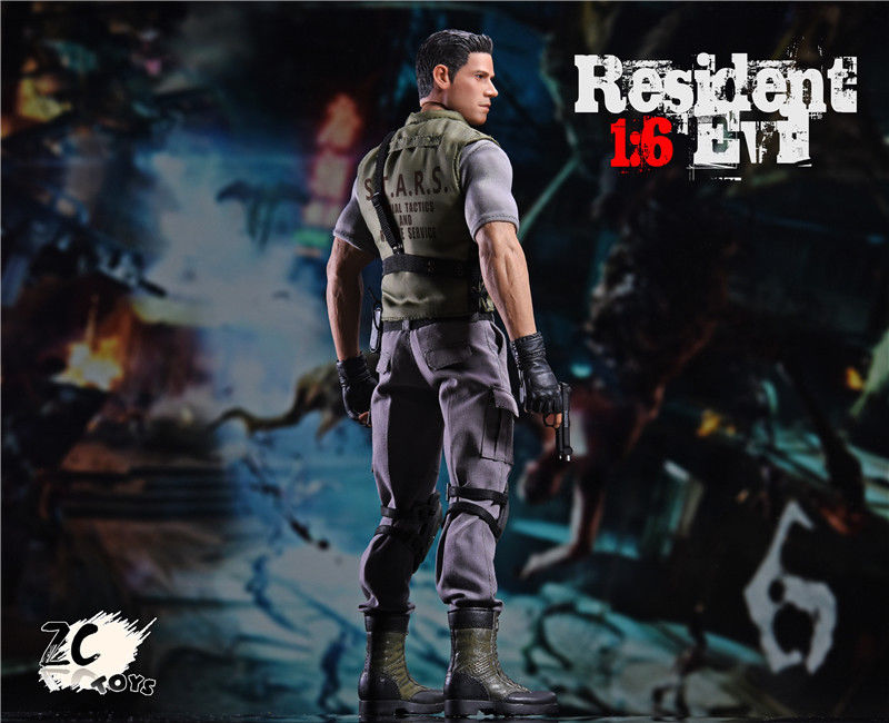 1 6 Scale Chris Redfield Resident Evil Police Officer Biohazard Wesker Giantoy Action Figures