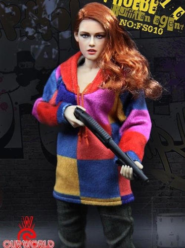Our world SW toys 1/6 American Ultra Phoebe Larson agent action figure(FS010#)