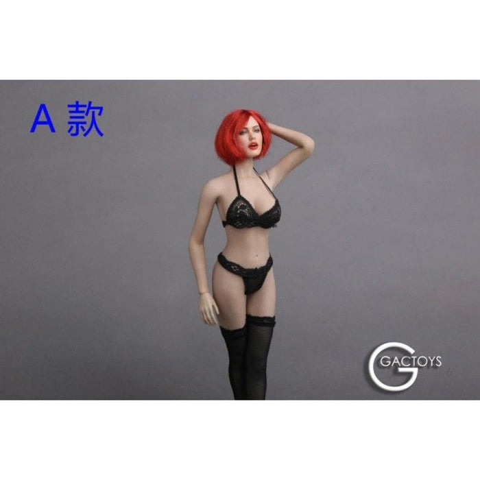 1/6 Scale GACTOYS GC017 Female Head Sculpt Seductive Face