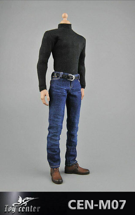 In-stock 1/6 Scale Toy Center Spy's Leather Clothing Suit