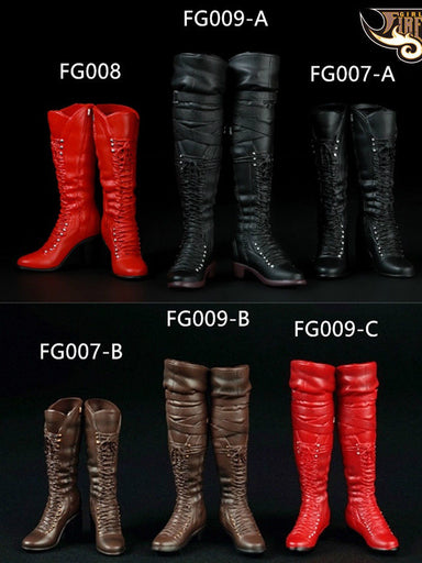 1/6 Scale Fire Girl FG007 FG008 FG009 Boots Female Accessories