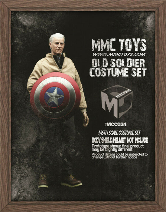 Pre-order 1/6 MCCTOYS MCC024 Old Soldier Veteran Clothes Costume Set