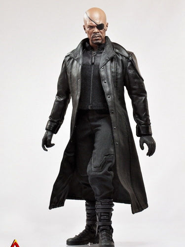 ACPLAY 1/6 ATX-008 Nick Furry Leather Coat Clothes Set Costume