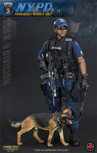 "In-Stock Soldier Story 1/6 NYPD ESU ""K-9 DIVISION"" 12in Action Figure"