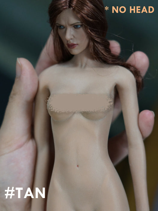 [#Tan] In-stock 1/6 Scale Jiaou Doll Skin Tone Seamless Female Body (No Head)