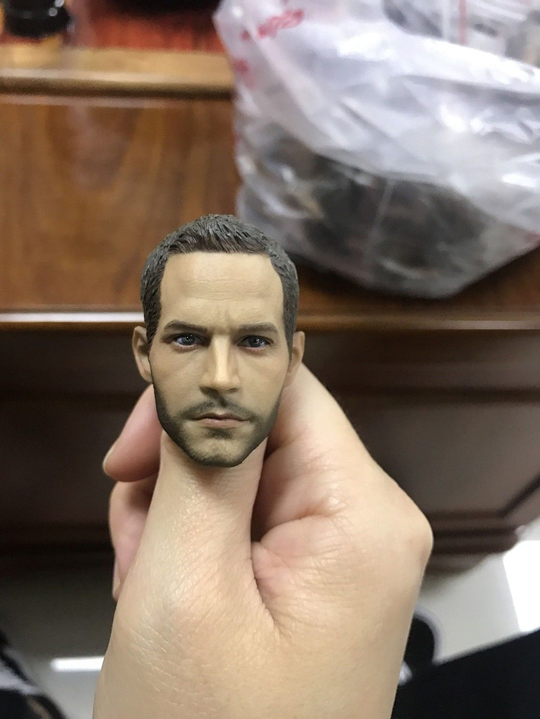 1/6 scale Head Sculpt Paul Walker for Fast & Furious 7