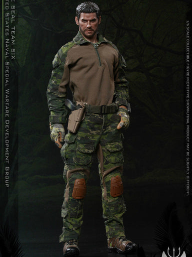 In-stock  FLAGSET 1/6 US seals 6 team DEVGRU jungle dagger action (#73020)
