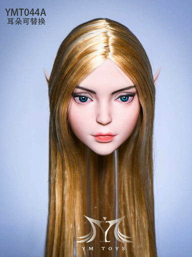 Pre-order 1/6 YMTOYS YMT044 Elf 2.0 Female Head Sculpt