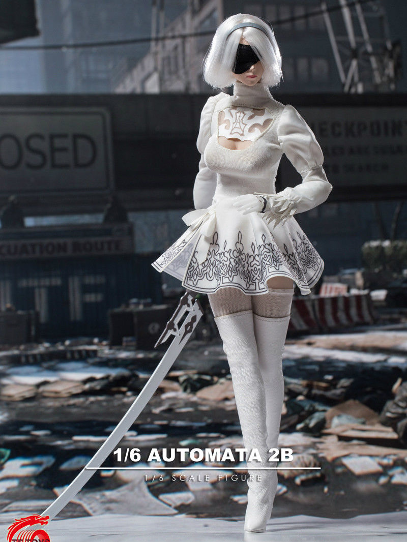 In-stock 1/6 Scale TF TOYS TF03 Automata 2B Nier Kit for 12in