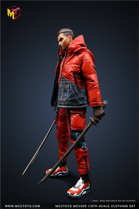 In-stock 1/6 MCCTOYS down jacket fasion clothes set