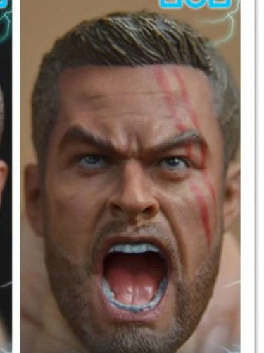In-Stock 1/6 Scale  Head Sculpt For Thor 3 ELITE TOYS Ragnarok