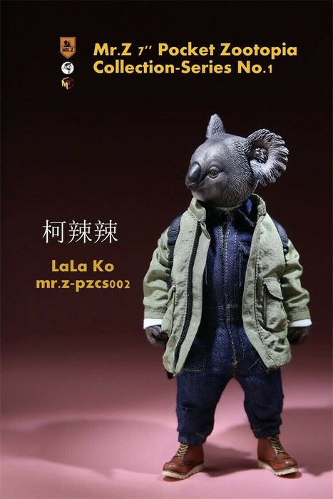 "In-stock Mr.Z 7"" Pocket Zootopia Collection-Series No.1 Action Figure"