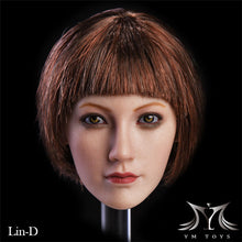 "1/6 Scale YMTOYS Female Asian Girl ""Lin"" Fit Phicen Body"