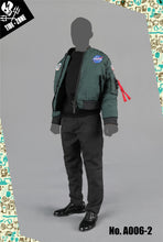 1/6 Scale TIDE-ZONE A006 Camouflage cotton vest suit