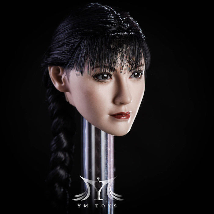 "In-Stock YMTOYS 1/6 Scale Fang Female Head Sculpt Shiranui H#Suntan 12"" figure"