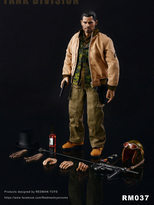 In-stock 1/6 Scale Redman toys RM037 FURY TANK DIVISION Action Figure