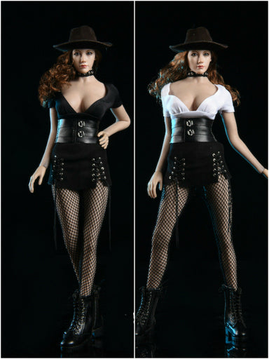 In-stock 1/6 VSTOYS Caribbean Style Corset Clothes Set