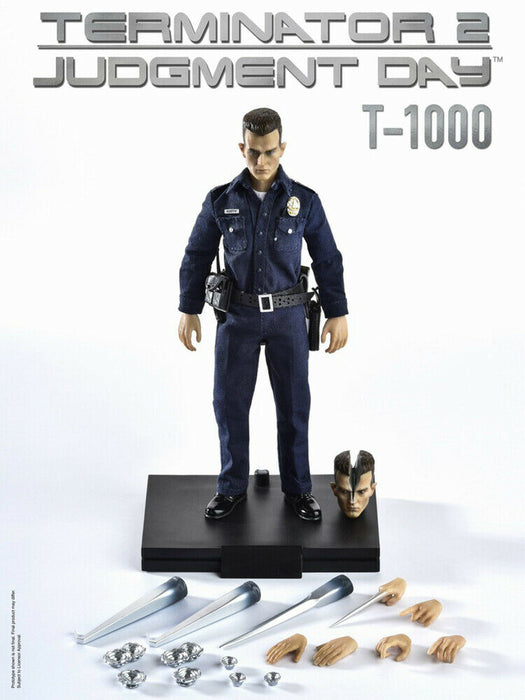 Pre-order 1/12 Great Twins Terminator T-1000 Action Figure