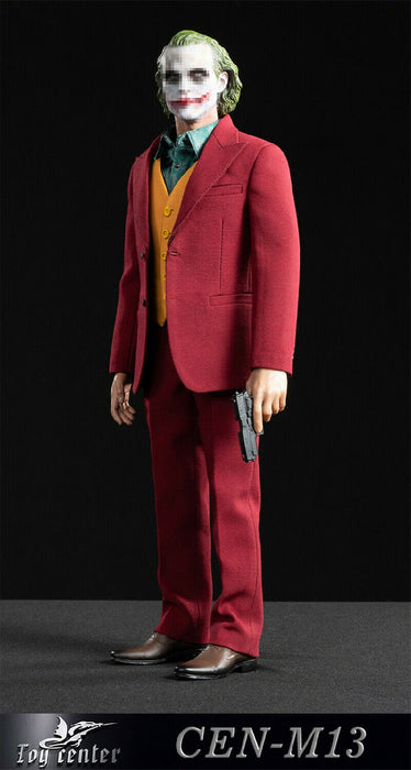 In-stock 1/6 Toy center CEN-M13 Joker Red Suit Clothes