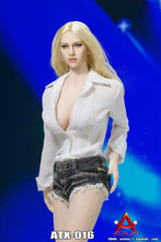 1/6 ACPLAY ATX016 Female Shirt Denim Shorts set for Phicen