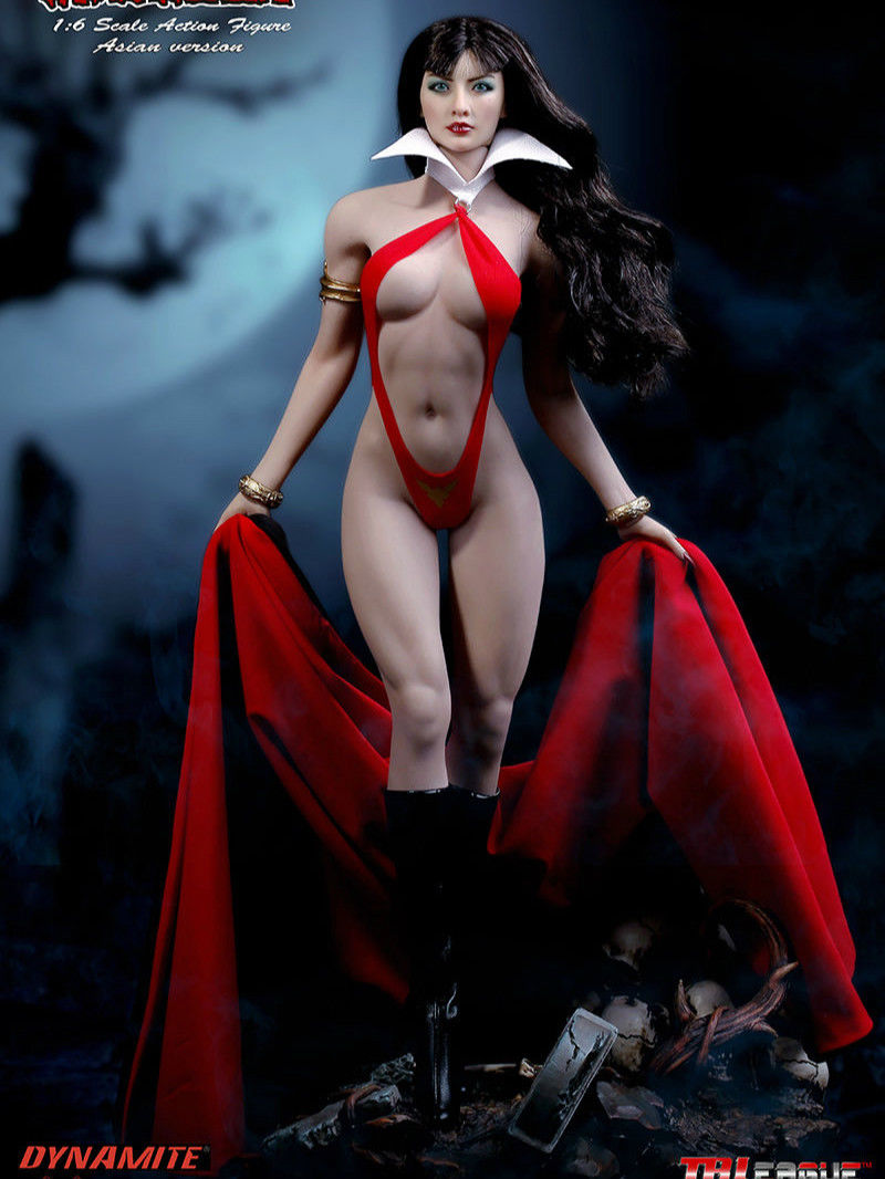 1/6 TBLeague Phicen Vampirella Action Figure Full Box Set PL2017-101-A