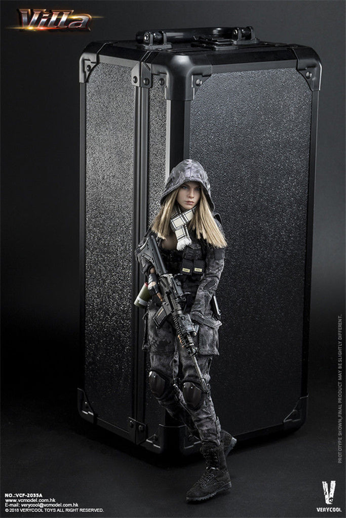 """VERYCOOL VCF-2035B 1//6 Scale Villa Sister Flower 12/"""" Action Figure Scarf Model"""
