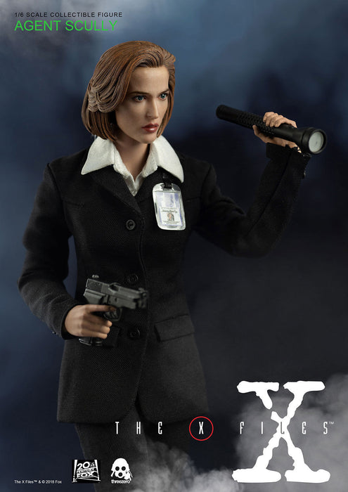 In-stock Three Zero 3Z0025DV 1/6 The X-Files Agent Scully Action figure #Deluxe