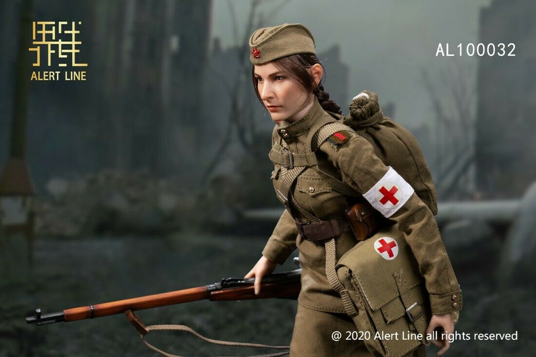 Pre-order 1/6 Alert Line AL100032 WWII Rescue Team Female Soldier Action Figure