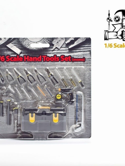 ZCWO 1/6 Scale Hand Tools Set Mono Version for 12'' action figure