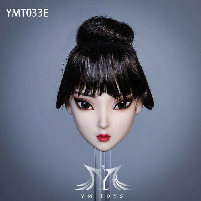 In-stock 1/6 Scale YMTOYS YMT033 Su'er Female Head Sculpt H#pale