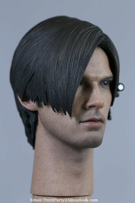 In-stock 1/6 Scale NOT HT Leon Head Sculpt HW/Neck