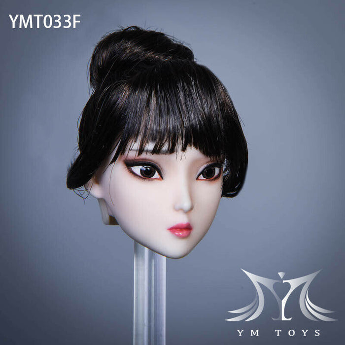 Pre-order 1/6 Scale YMTOYS YMT033 Su'er Female Head Sculpt H#pale