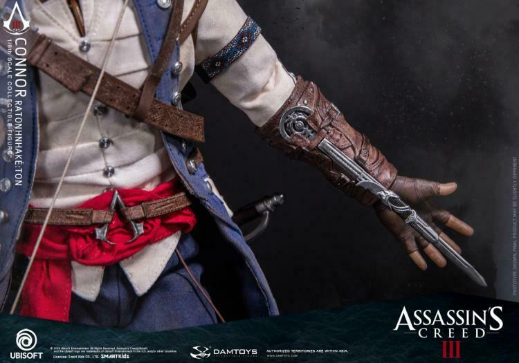 In-stock 1/6 Scale DAMTOYS Assassin's Creed III Connor DMS010 Action Figure