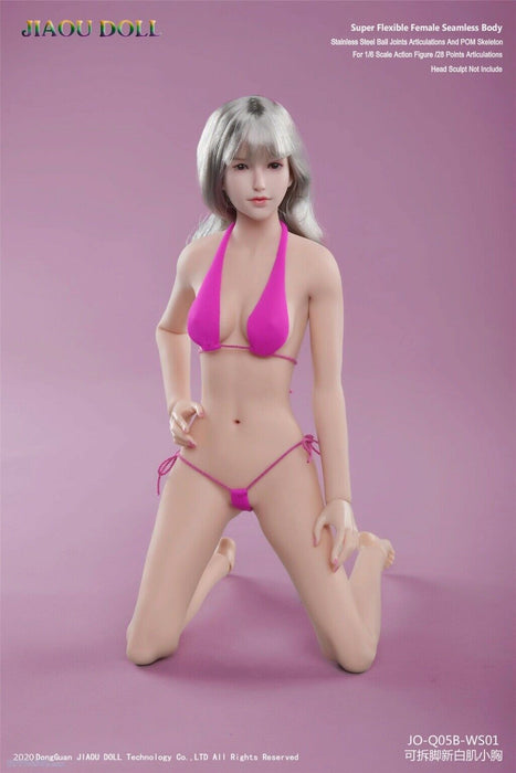In-stock 1/6 JIAOU DOLL Asian Shape New Body Q05BS Series