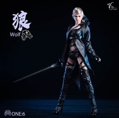 Pre-order 1/6 Scale VSTOYS The white Wolf 19XG47 Custom Kit (No body) JP#4