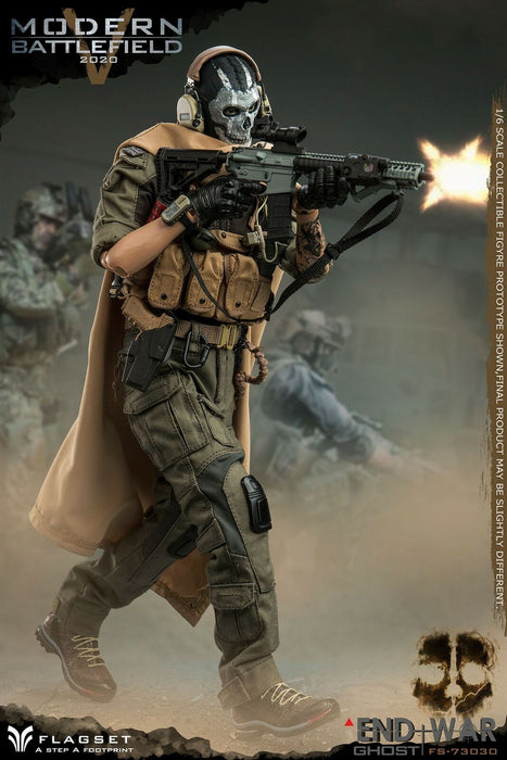 "Pre-order 1/6 Scale FLAGSET END WAR Ghost  ""V"" FS73030 Action Figure"