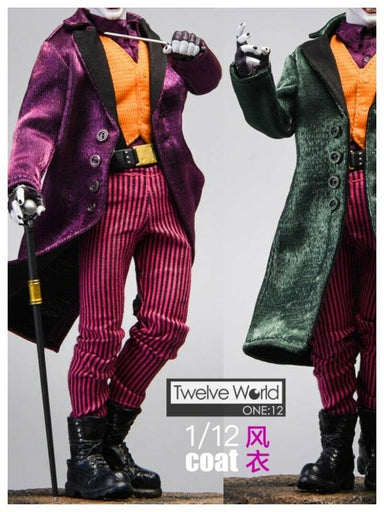 In-stock 1/12 TWTOYS TW1926 Joker Coat (Only Coat included)