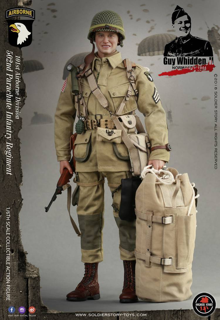Pre Order Soldier Story 1 6 Wwii 101st Airborne Division Guy