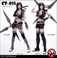 Pre-order 1/6 Scale CAT TOYS CT015 Combat Girl Custom Kit (With S16A Body)