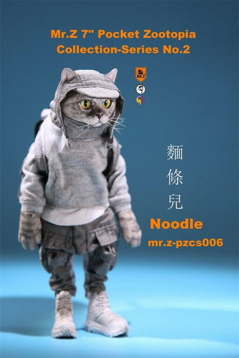 In-stock 1/6 Scale Pocket Zootopia No.2 Cat Series PZCS 005 006 007