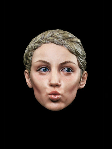 In-Stock 1/6 Scale Facepool FP-H-003 H003 Female Head Sculpture with Expression