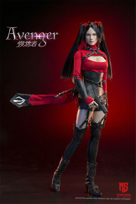 In-stock 1/6 Scale STAR MAN MS-005 Female AVENGER Action Figure