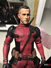 Burning soul 1/6 Ryan Reynolds Deadpool Wade Wilson head play For Hot Toys body