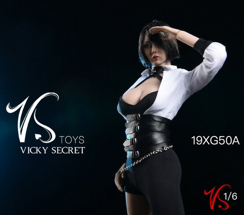 In-stock 1/6 VSTOYS 19XG50 Gothic Fasion Clothes Set