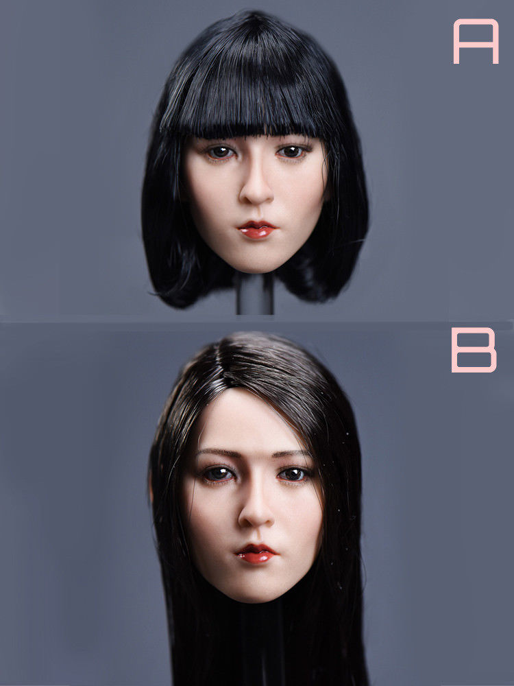 1/6 Scale YMTOYS Asian Beauty Female Head Sculpt