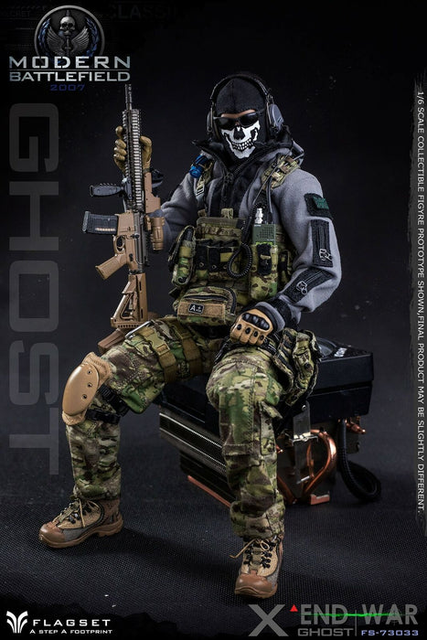 "Pre-order 1/6 FLAGSET END WAR GHOST ""X"" FS-73033 Action Figure"