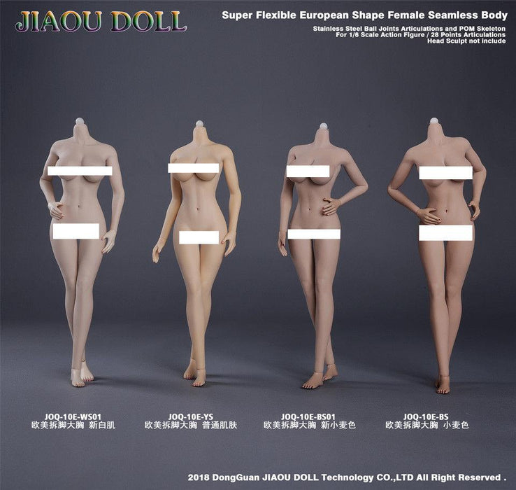 JIAOU DOLL 1/6 Female Body 10E Collection