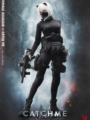 In-Stock VERYCOOL:1/6 Scale Female Assassin Series First Bomb —