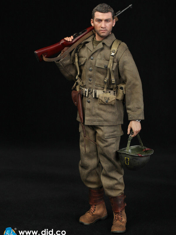 1 6 Did A80129 1 6 Ww2 77th Infantry Division Action Figure