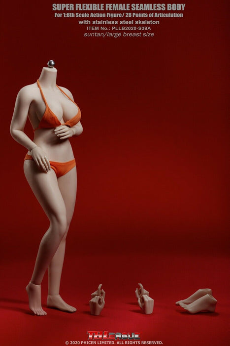 In-stock 1/6 TBLeague PLLB2020-S38A PLLB2020-S39A Plus Size Body